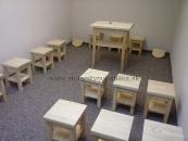 Stoly, stolíky, lavice