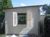 Záhradné domčeky, studne, latríny